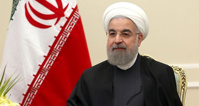 İran Cumhurbaşkanı Ruhani: 'ABD, Dünya Sağlık Örgütü kurallarına uymuyor'