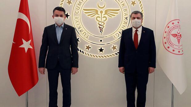 Sağlık Bakanı Koca ve Pakdemirli bir araya geldi