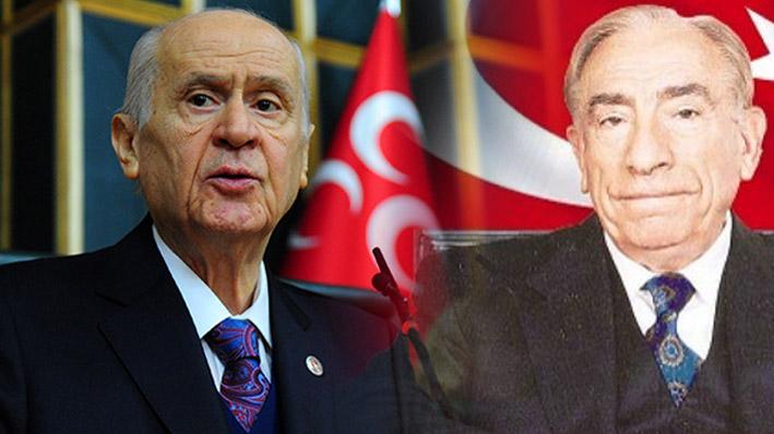 Devlet Bahçeli: Türkeş'in yaktığı meşale sönmeyecek!