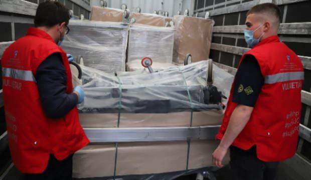 Türkiye'nin tıbbi yardımları Kosova'ya ulaştı