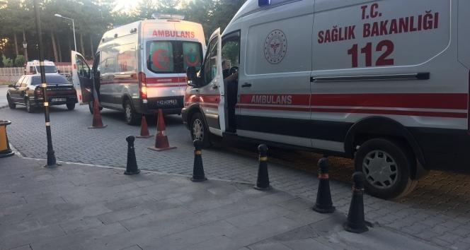 Tuz ruhu içen üç çocuk hastaneye kaldırıldı
