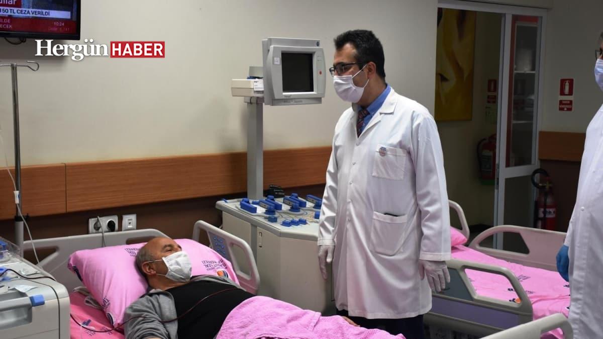 Türkiye'de ilk kez immün plazma yöntemiyle koronavirüs tedavisi uygulandı