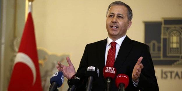 İstanbul Valisi Yerlikaya'dan flaş açıklama
