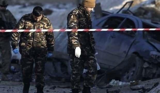 Afganistan'da istihbarat binası önünde bombalı saldırı: 7 ölü, 40 yaralı