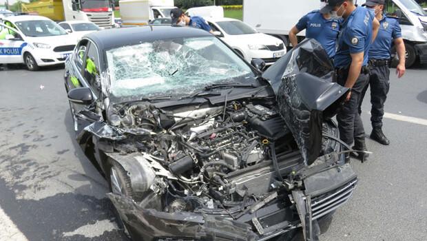 AK Parti Milletvekili Ümraniye'de kazada yaralandı