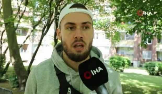 Alman polisi Maske takmayan Türk gencinin burnunu kırdı
