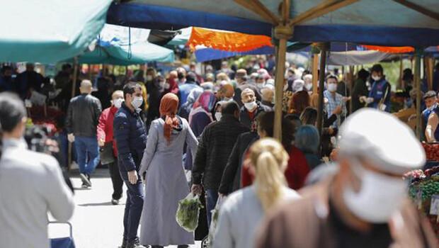 Ankara'da kısıtlama sonrası alışveriş yoğunluğu