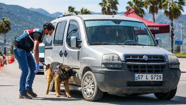 Antalya'ya kontrollü giriş
