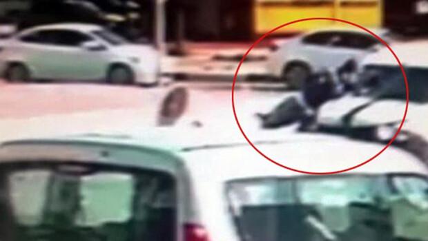 Aracın 50 metre sürüklediği motosikletin sürücüsü öldü