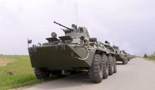 Azerbaycan ordusu geniş çaplı tatbikat başlattı