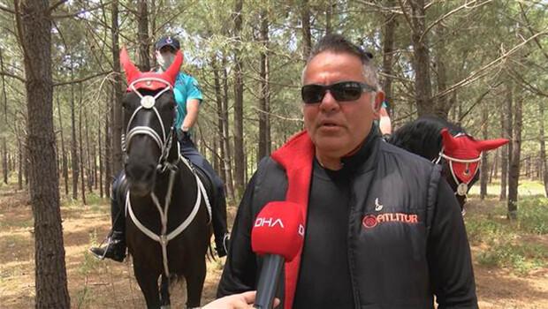 Belgrad Ormanı'nda atlı birliklerle denetim