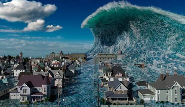Bilim insanları uyardı: Gelecek yıl dev bir tsunami oluşturacak