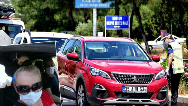 Bodrum'a 24 saatte 10 bin araç giriş yaptı! Akın akın geliyorlar
