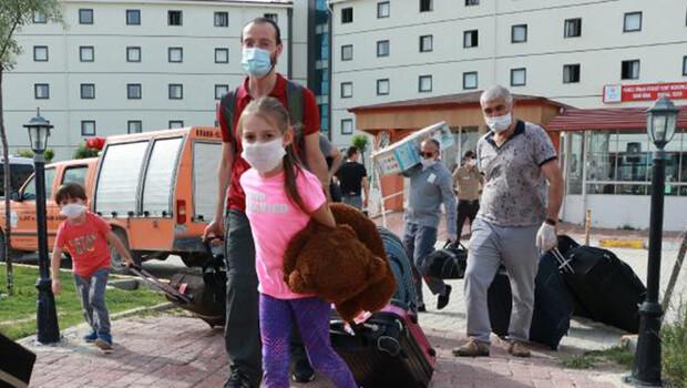 Burdur'da karantinaya alınan 146 kişi evlerine gönderildi