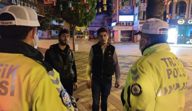 Bursa'da saati unutan gençler 6 bin 300 lira ceza yedi