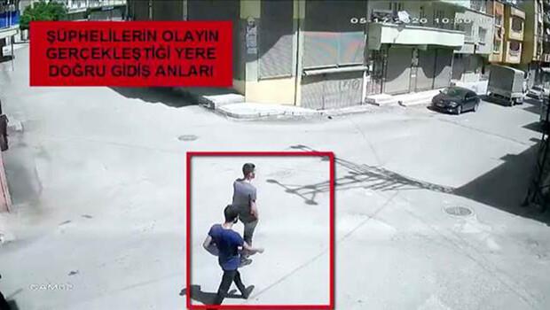 Çocuğun elindeki telefonu çalanlar kameradan belirlenip, yakalandı