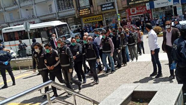 Çorum'daki 'suç örgütü' operasyonunda 8 tutuklama