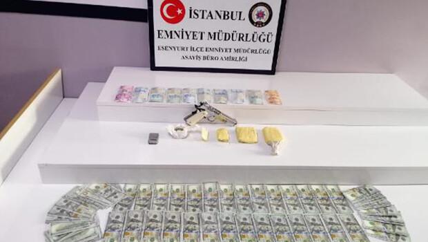 Esenyurt'ta uyuşturucu operasyonu; 5 gözaltı