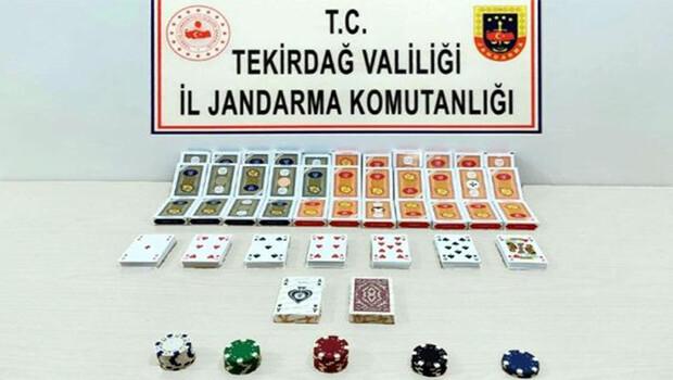 Evde kumar oynayan 15 kişiye, 68 bin 775 lira ceza