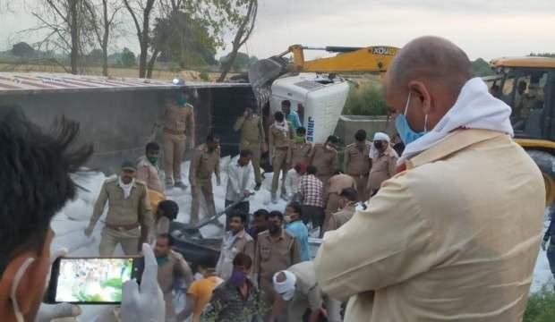 Hindistan'da feci kaza: 23 ölü, 35 yaralı