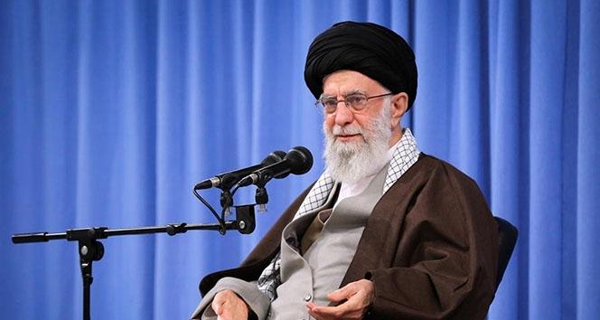 İran dini lideri Hamaney: Siyonist İsrail virüsünün kökünü kazıyacağız