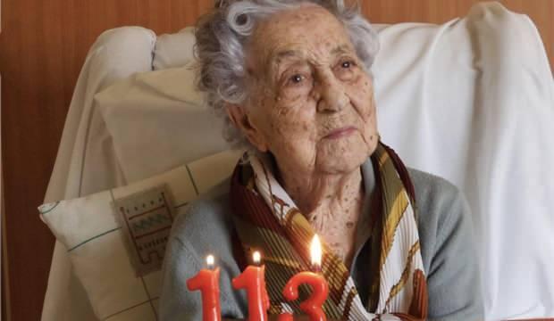 İspanya'da 113 yaşındaki kadın, koronavirüsü yendi