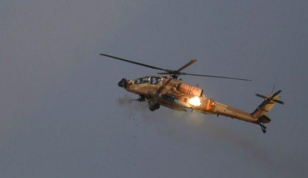 İsrail helikopterleri, Suriye'nin güneyini vurdu