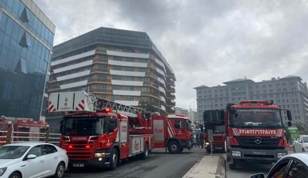 İstanbul'da rezidansta yangın paniği