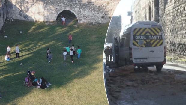 İstanbul'da tarihi surlarda tedirginlik