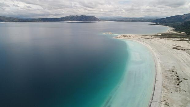 İşte Salda Gölü'nde son durum! Eski görüntüsüne kavuştu