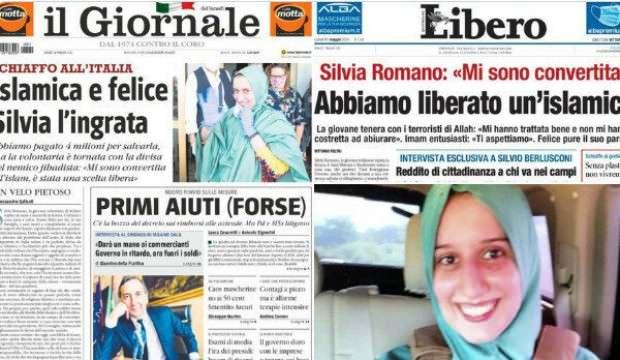İtalyan gazeteleri nefret kustu: Nankör Silvia