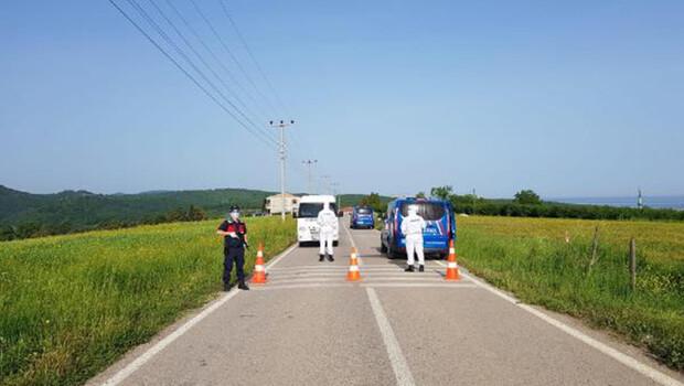 Kandıra'da mahalle karantinaya alındı