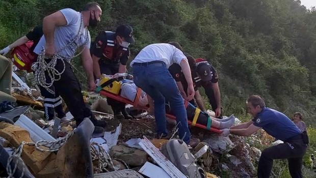 Kastamonu'da korkunç olay! Fotoğraf çektirirken uçuruma düştü