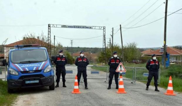 Kırklareli'nin Dolhan köyündeki karantina kaldırıldı