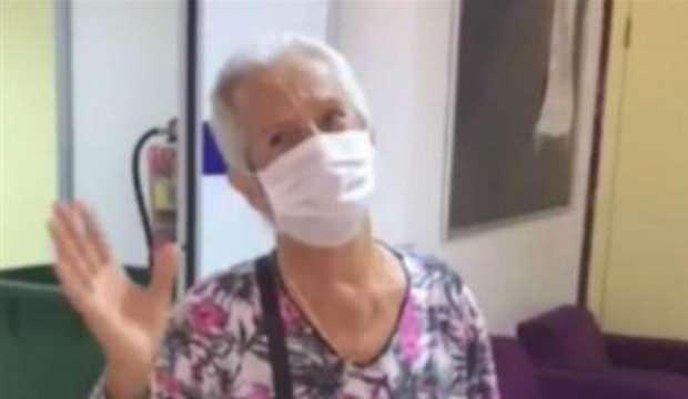 Kocasını kaybettiği koronavirüsü 38 günde yendi