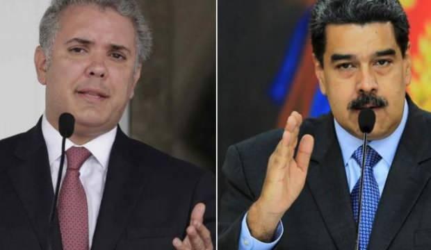 Kolombiya Devlet Başkanından Maduro'ya sert sözler