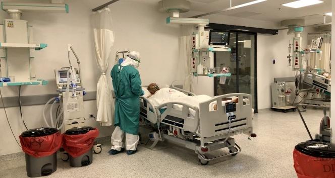 Koronavirüs hastaları işte bu yoğun bakımda tedavi ediliyor