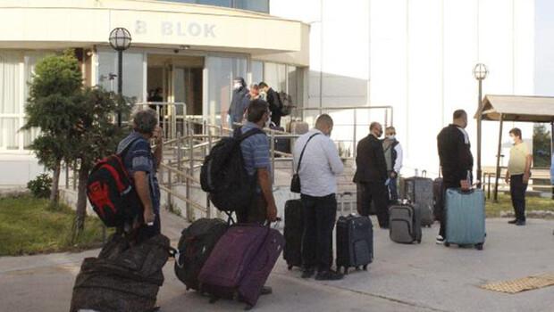 Liberya ve Fildişi Sahili dönüşü 98 kişi, Çanakkale'de karantinaya alındı