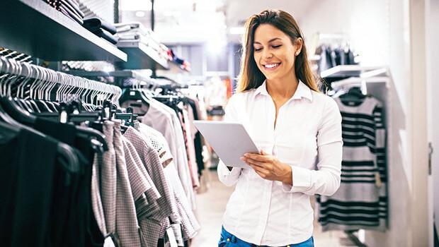 Mağaza çalışanına eğitim yardımı