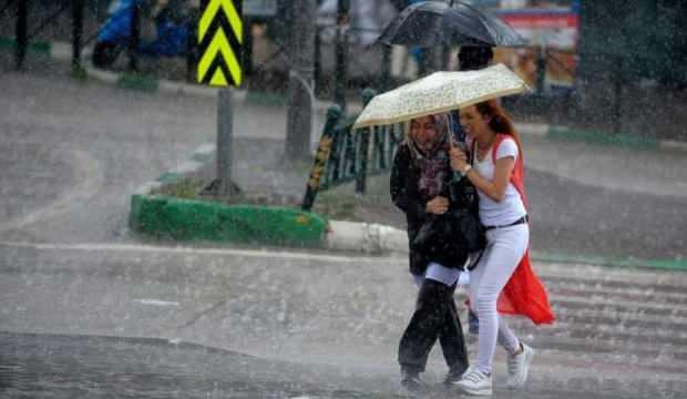 Meteoroloji uyardı: Sağanak yağış  geliyor…
