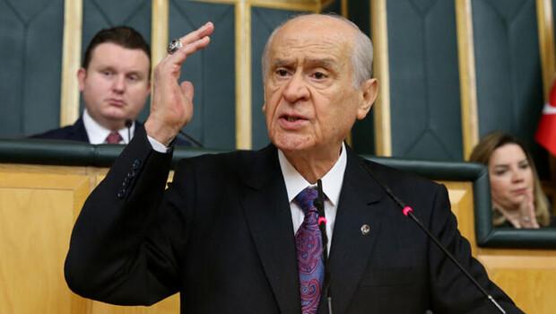 MHP Lideri Devlet Bahçeli'den CHP'ye sert sözler