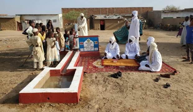 Ömer Döngeloğlu adına Çad'da su kuyusu açıldı