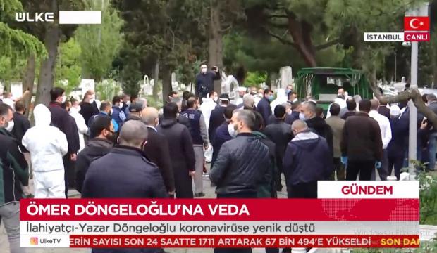 Ömer Döngeloğlu'nun cenazesi defnedildi