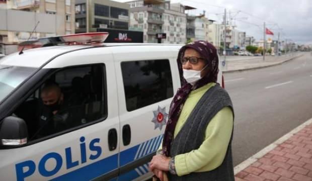 Polisin denetiminde ortaya çıktı: 75 yaşındaki kadını evden atmışlar