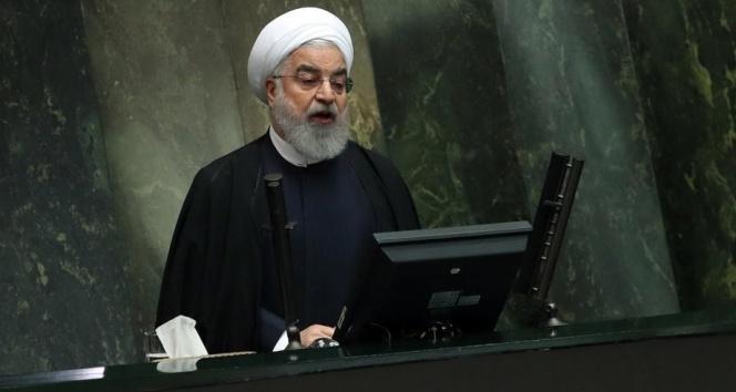 İran Cumhurbaşkanı Ruhani: ABD, uluslararası iş birliğine tehdit oluşturuyor