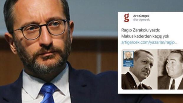 Son dakika… İletişim Başkanı Fahrettin Altun'dan skandal ifadelere suç duyurusu