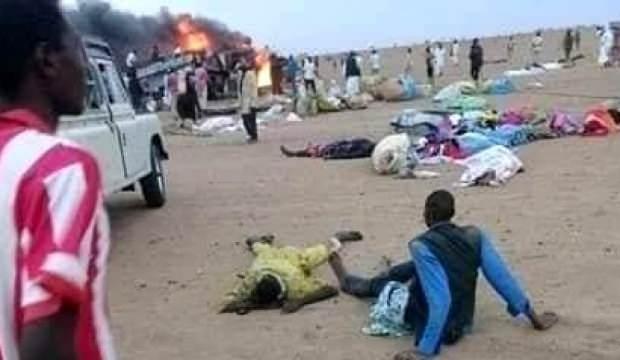 Sudan'da korkunç trafik kazası: 43 ölü, 31 yaralı