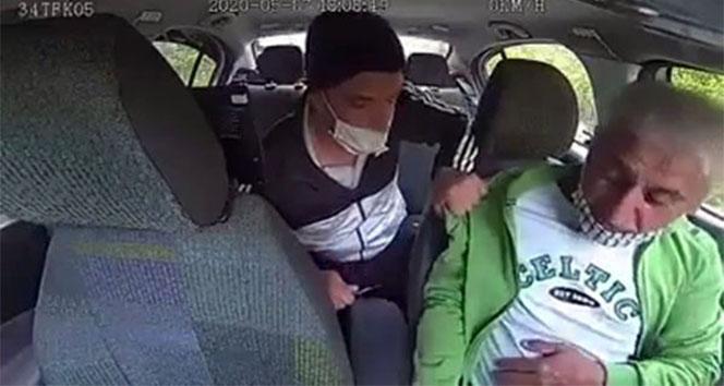 Taksiciyi bıçak zoruyla gasp eden zanlı yakalandı