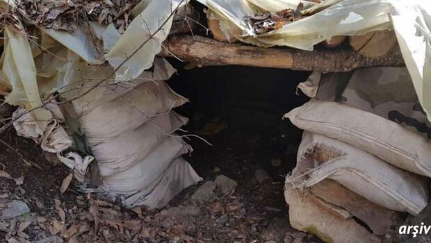 Terör örgütü PKK'ya ait 8 katlı sığınak imha edildi