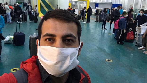 Türk yolcu, karantinadaki gemide yaşadıklarını anlattı